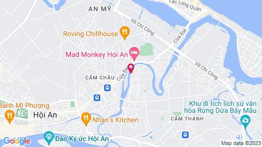 Villa Hoa Su - Frangipani Village Resort Map