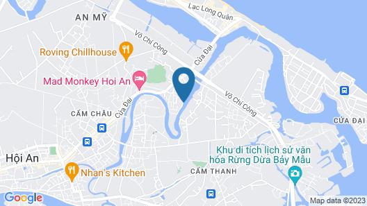 OYO 121 Nipa Riverside Villa Map