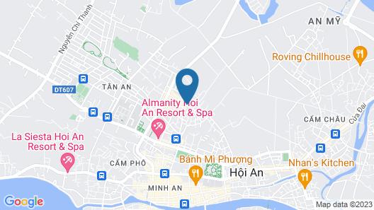 Golden Pearl Hoi An Hotel Map