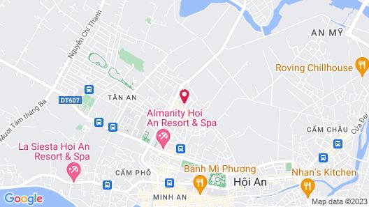 Hoian Sincerity Hotel & Spa Map