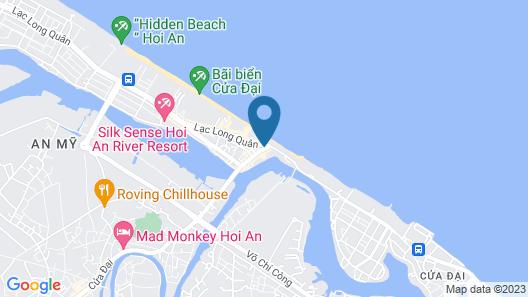 Victoria Hoi An Beach Resort & Spa Map