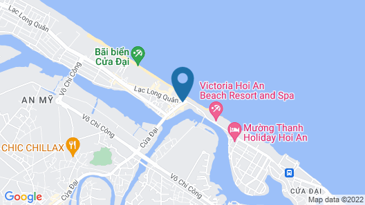 Hoi An Beach Resort Map