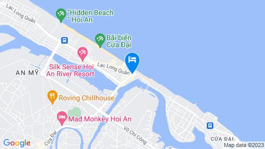 Hoi An Beach Resort Map