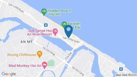 Little Beach Hoi An. A Boutique Hotel & Spa Map