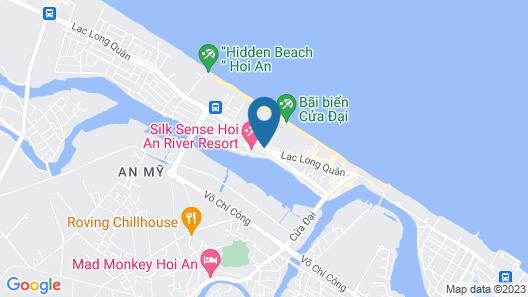 Palm Garden Beach Resort and Spa Map