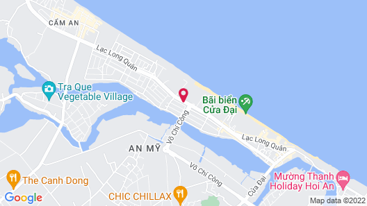 Boutique Hoi An Resort Map