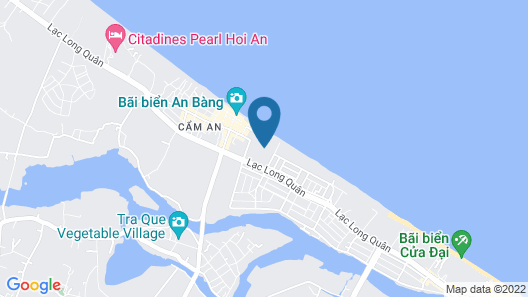 Seaside An Bang Homestay Map