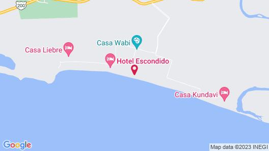 Eco-luxury Haven in Puerto Escondido Map