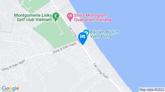 Grandvrio Ocean Resort Danang Map