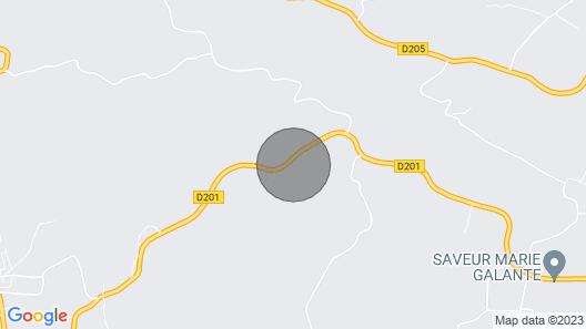 Kazamour to Marie-galante Map