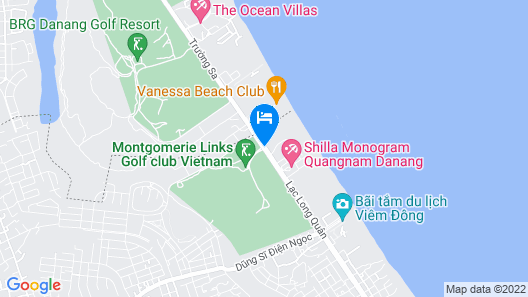 Montgomerie Links Hotel & Villas Map
