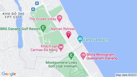 Naman Retreat Map