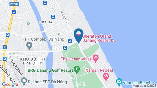 Sheraton Grand Danang Resort Map
