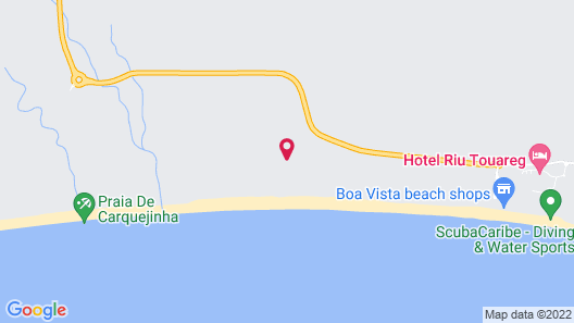 Hotel Riu Touareg - All Inclusive Map