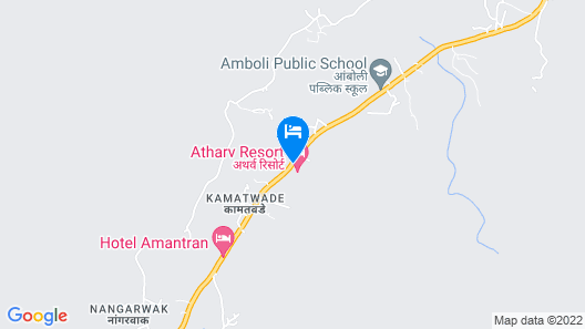 Atharv Resort Map