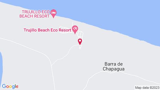 Trujillo Beach Eco-Resort Map