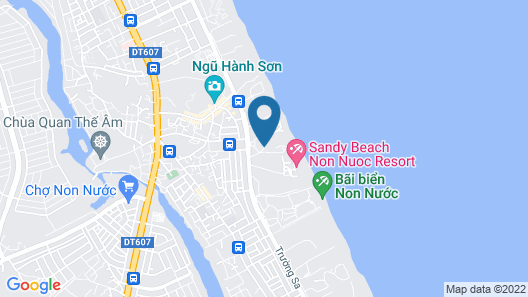 Melia Danang Beach Resort Map