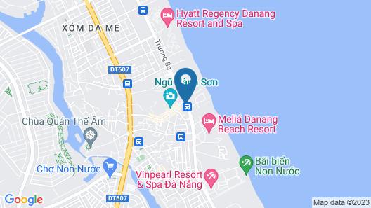 Hyatt Regency Danang Resort and Spa Map