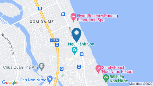Vinpearl Luxury Da Nang Map
