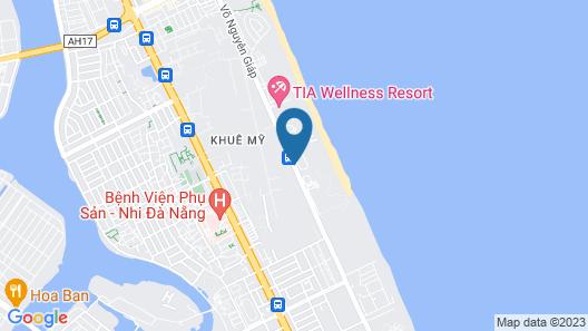 Crowne Plaza Danang Map