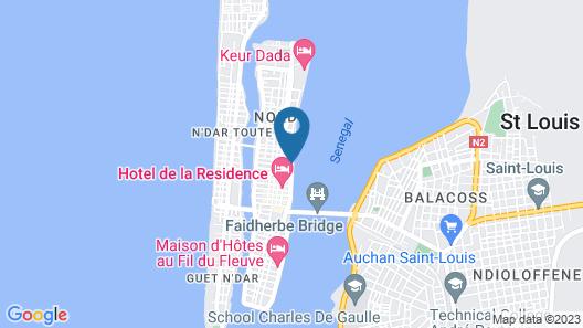 Croisière sur le Bou El Mogdad Map