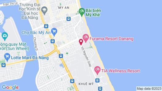 Furama Resort Danang Map