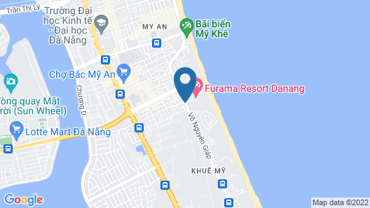 Furama Resort Danang Map