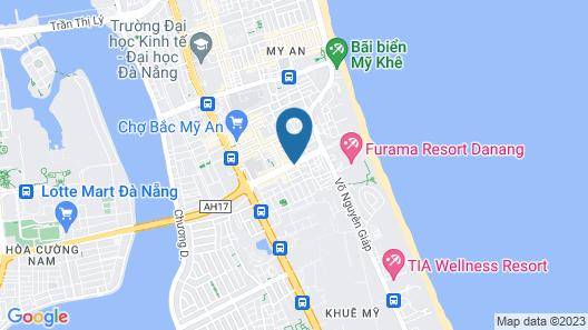 Titan Hotel Map