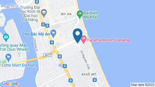 Pullman Danang Beach Resort Map