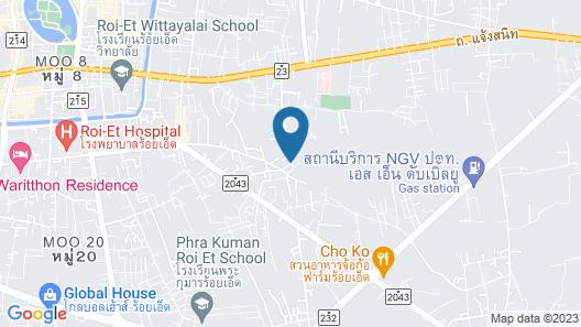 Le Park 23 Boutique Resort Map