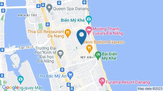 Queen's Finger Hotel Map