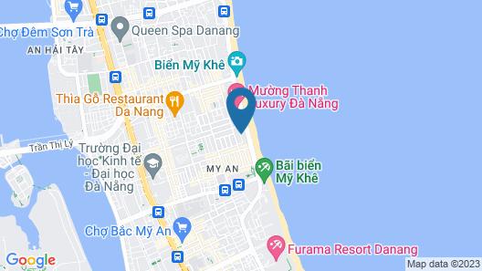 TMS Hotel Da Nang Beach Map