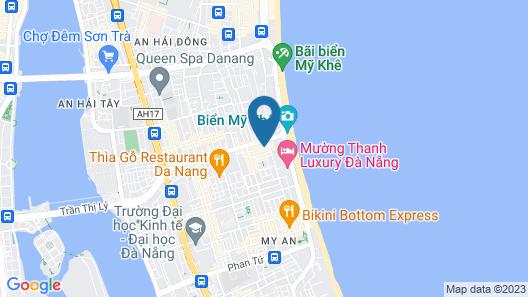 San San Hotel Map