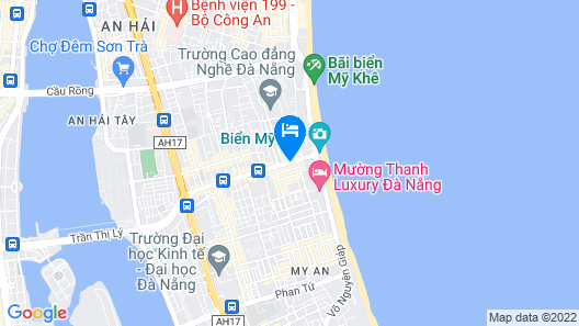 Richico Apartments And Hotel Map