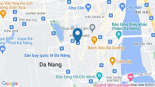 Huong Binh Hotel Da Nang Map