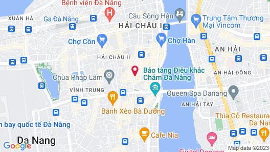 Moonlight Da Nang Hotel Map