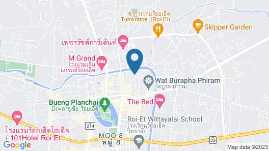 Rueanrimnam Hotel Map