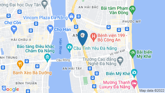 Muong Thanh Grand Da Nang Hotel Map