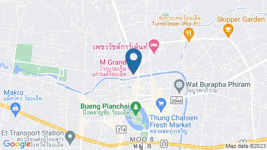 M Grand Hotel Roiet Map