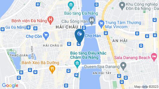 Satya Hotel Map