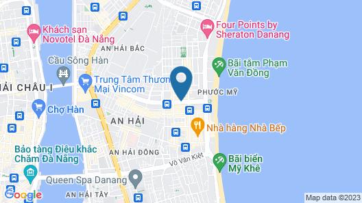 Sofia Boutique Hotel Map