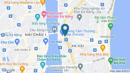 Vinpearl Condotel Riverfront Danang Map