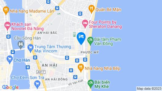 M Boutique Danang Map