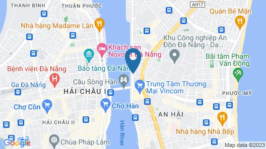 OYO 280 Mimosa Hotel Danang Map