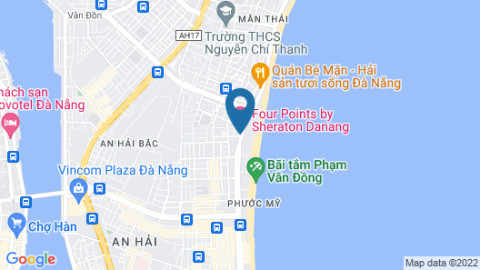 Four Points by Sheraton Danang Map