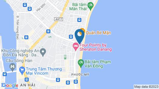 Fusion Suites Da Nang Map