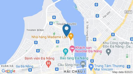 Grandvrio City Danang By Route Inn Group Map