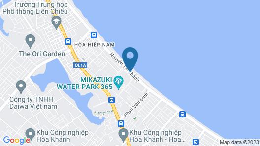 Da Nang - Mikazuki Japanese Resorts & Spa Map