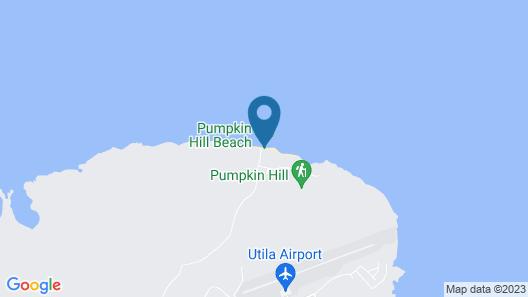 Camp Utila Village Map