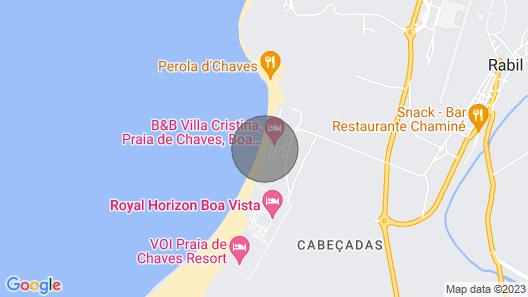 House Madlen, Praia de Chaves, Boa Vista, Cape Verde Map